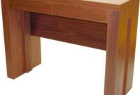 Mesas Extensibles Y Abatibles Para Salon Zwdg Mesa De Salon Consola