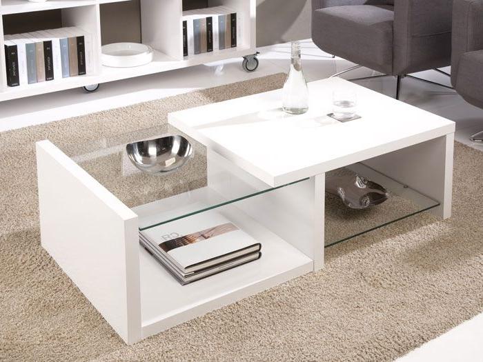 Mesas Extensibles Y Elevables Para Pequeños Espacios Zwd9 Mesa Centro Blanca Cristal Diseà O De Espacio De Oficina