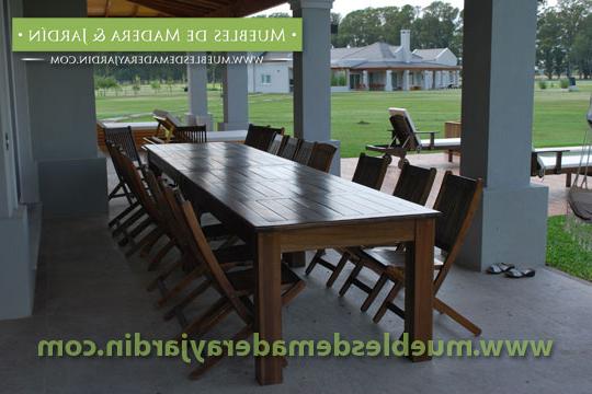 Mesas Grandes 3ldq Mesas Grandes Para Quinchos El Blog De Muebles De Madera Y Jardin