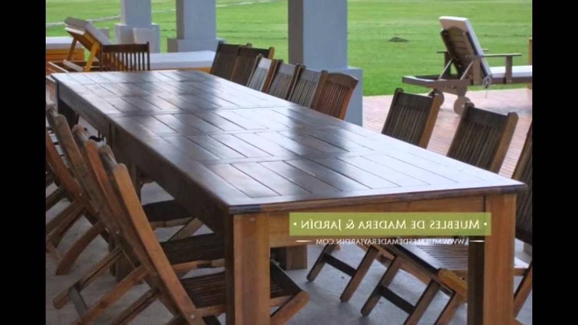 Mesas Grandes Whdr Mesas Grandes Muebles De Madera Y Jardà N Youtube