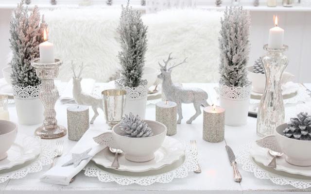 Mesas Navidad 87dx Ideas Para Decorar Mesas De Navidad