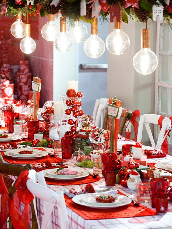 Mesas Navidad 87dx Mesas Vestidas De Fiesta Nuevo Estilo