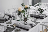 Mesas Navidad 9fdy Mesas De Navidad En Blanco Y Plata sophie Kors Weddings