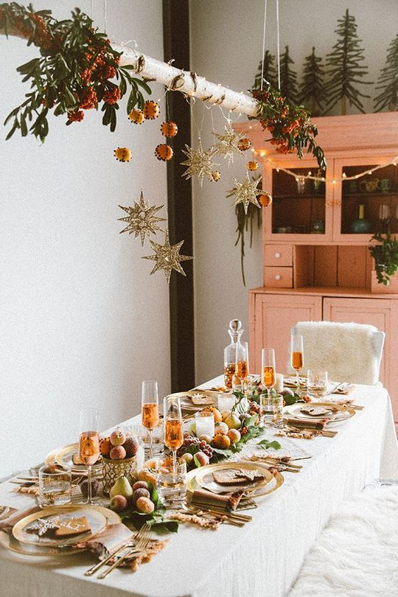 Mesas Navidad E6d5 Mesas De Navidad Decoradas Para Navidad 2019 2020