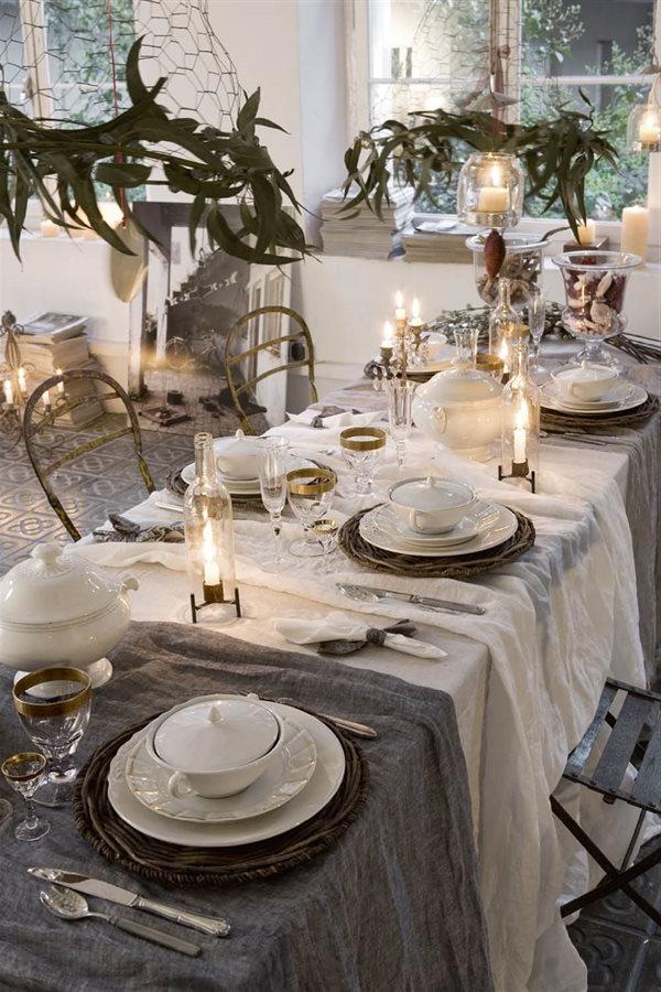 Mesas Navidad Tldn 15 Mesas De Navidad Llenas De Ideas Para Que Decores Tú Misma La Tuya