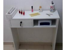 Mesas Para Manicure Q5df Mesa Para Manicure 1 Gaveta Chave E 1 Partimento No Elo7