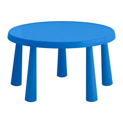 Mesas Para Niños Nkde Mammut Mesa Para Nià Os Int Ext Azul 85 Cm Ikea