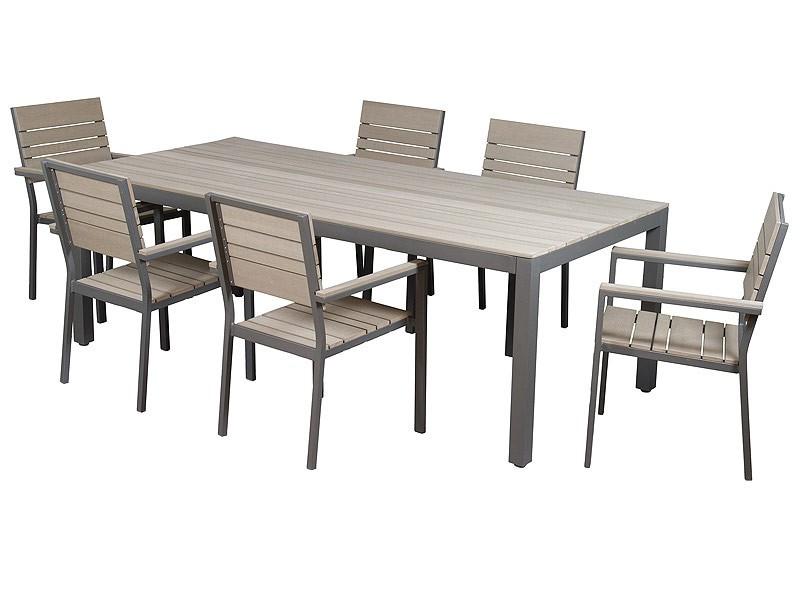 Mesas Para Terraza Mndw Mesa Y Sillas De Aluminio Y Sintà Tico Para Terraza