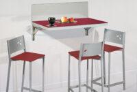 Mesas Plateadas Irdz Mesa De Cocina Abatible Mesa De Cocina Abatible Rojo Grey Plateado