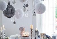 Mesas Plateadas Rldj Mesas Plateadas Para Navidad Decoracion Para Fiestas Arte Y