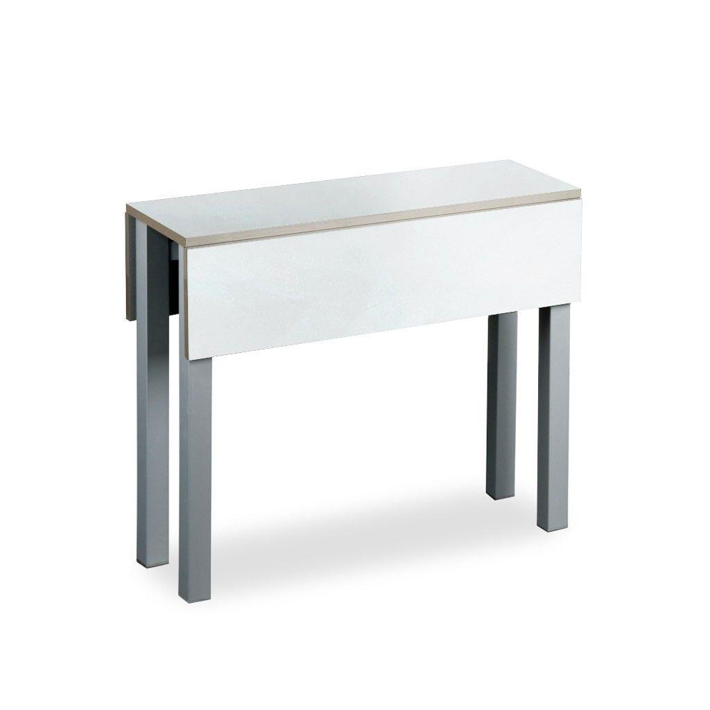Mesas Plegables Para Cocina Etdg Mesa Plegable Para Cocina Modelo Belloc En Laminado Blanco Es Una