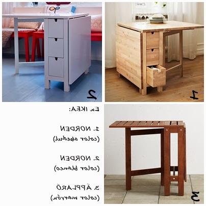 Mesas Plegables Para Cocina Etdg Mesas Plegables O Abatibles Para La Cocina Decoracià N
