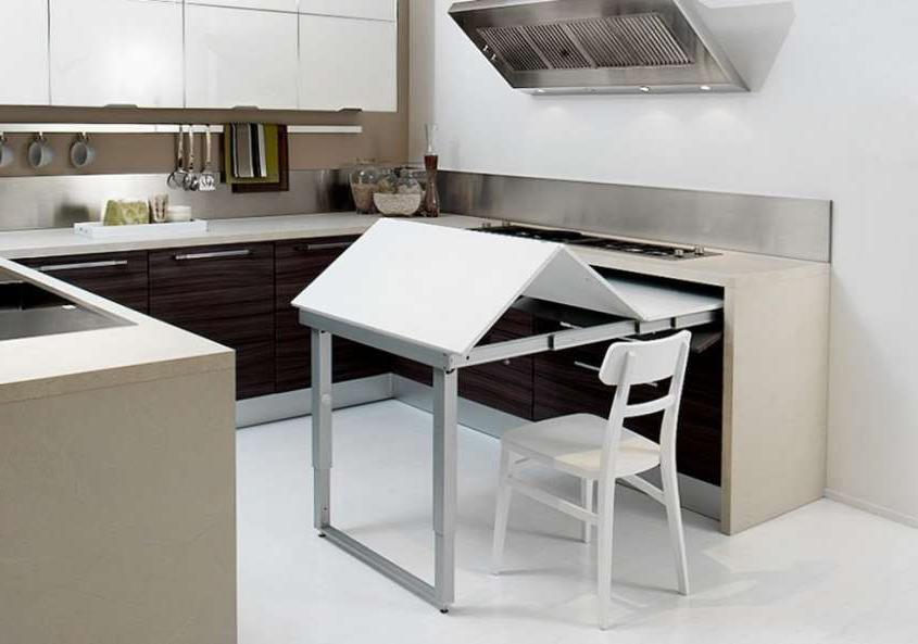 Mesas Plegables Para Cocina H9d9 Decoracià N Cocina Fotos Ideas Para Ahorrar Espacio Mesa Plegable