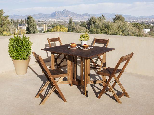 Mesas Plegables Terraza 4pde Las Mejores Mesas Y Sillas Para Tu Terraza Decoshabby