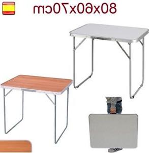 Mesas Plegables Terraza T8dj Mesa Plegable De Aluminio Portà Til Camping Terraza Jardà N Mesa Para