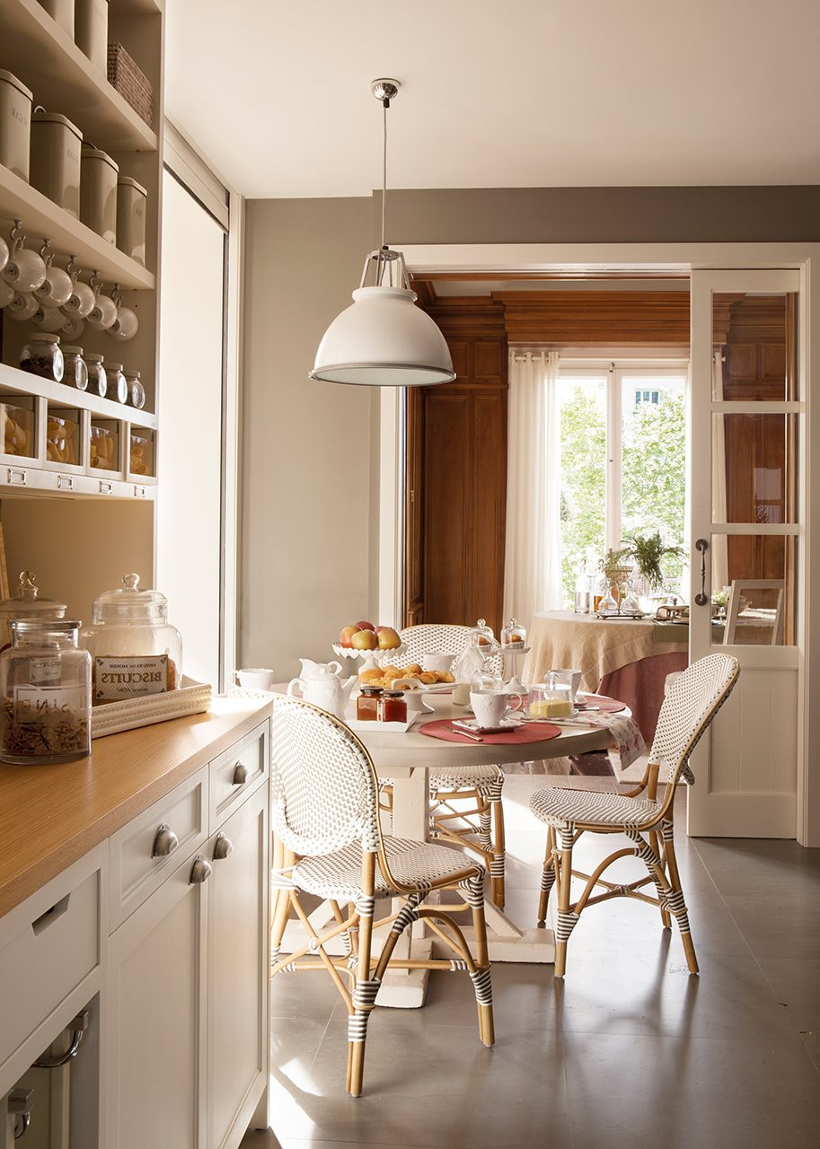 Mesas Redondas De Cocina S5d8 Un Office Ideal En La Cocina