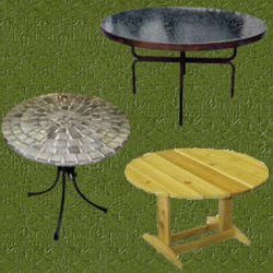 Mesas Redondas De Jardin 87dx Mesas Redondas Para Jardin En Distintos Materiales