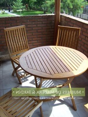 Mesas Redondas De Jardin Q5df Mesas Redondas Para Jardin El Blog De Muebles De Madera Y Jardin