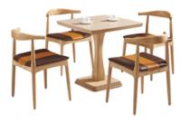 Mesas Restaurante J7do Restaurant Furniture En Madera De Mesas Y Sillas De 120x60cm Con 4 Sillas Foh 17r4 Wooden Restaurant Table Set Restaurant Silla Wood Dining