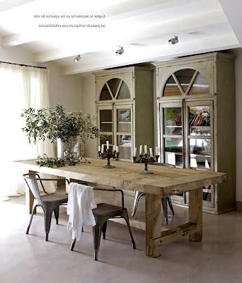 Mesas Rusticas De Comedor Ftd8 Mesas Rústicas De Tablones My Haven Pinterest Dining Room