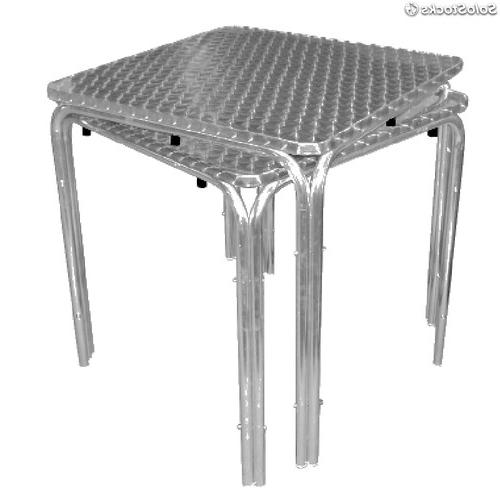 Mesas Terraza Hosteleria Irdz Mesa Terraza Bar Acero Inoxidable Aluminio