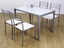Mesas Y Sillas De Cocina Baratas H9d9 Set Table and 4 Chairs Kitchen Alpha Various