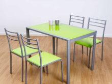 Mesas Y Sillas De Cocina Baratas Online Fmdf Conjunto De Mesa Y 4 Sillas Alfa En Colores Muebles Baratos Online