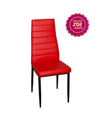 Mesas Y Sillas De Comedor Modernas Y Baratas H9d9 Silla De Edor Moderna Color Rojo Fuego Sillas Y Mesas Baratas