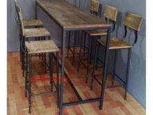 Mesas Y Sillas Para Bar S5d8 American Village Estilo Loft Hierro forjado Mesas Y Sillas