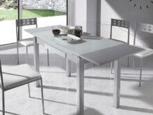 Mesas Y Sillas Para Cocina Y7du Conjunto Mesa Cristal Alas Extensibles Y 4 Sillas Para Cocina