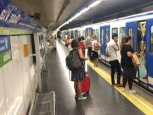 Metro Horario Madrid