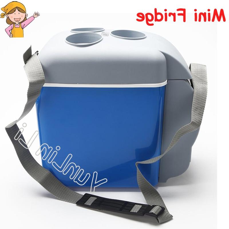 Mini Nevera Portatil Zwd9 7 5l Coche Mini Nevera Portà Til 12 V Viaje Abs Refrigerador