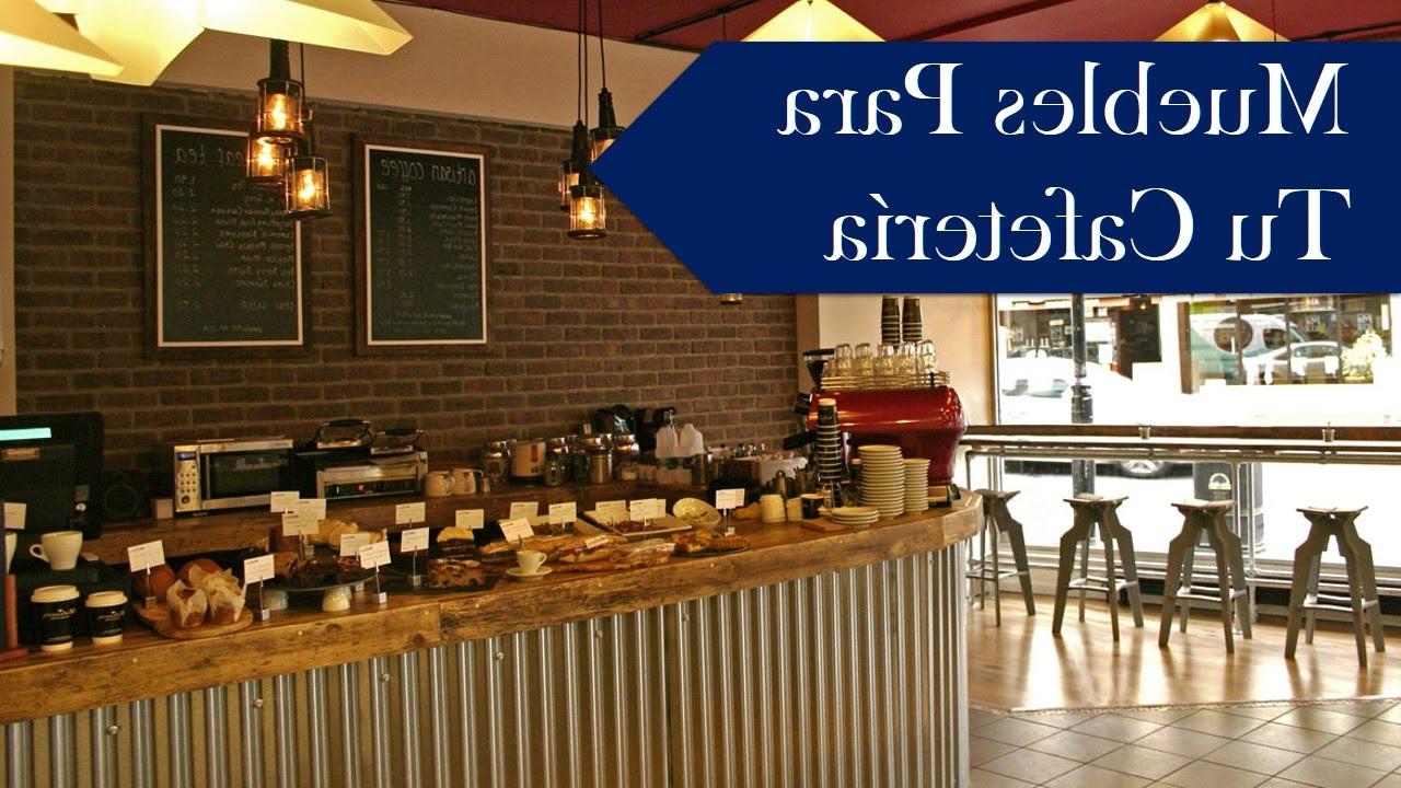 Mobiliario Cafeteria S5d8 Muebles Para Cafeteria Cursos Y Capacitacion Youtube