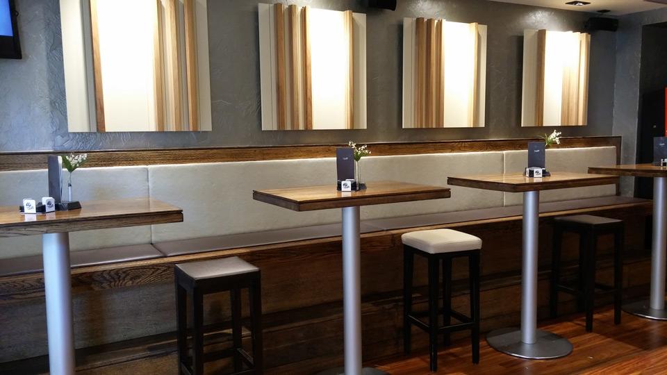 Mobiliario De Bar 9fdy Aker Bar Xo Refurbishment Landa Ebanisterà A