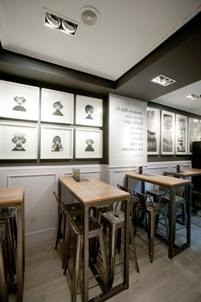 Mobiliario De Bar Irdz Mobiliario Diseà O Francà S En Proyecto De Decoracià N Del Bar Amistad
