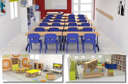 Mobiliario Escolar Infantil Jxdu Hermex Wesco Mobiliario Escolar Infantil Equipamiento Guarderia Y
