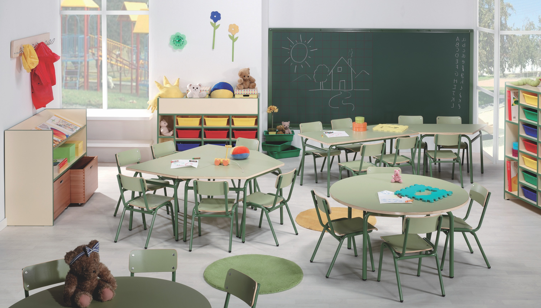 Mobiliario Escolar Infantil Kvdd Mesa Rectangular Escuela Infantil Mobiliario Escuela Infantil