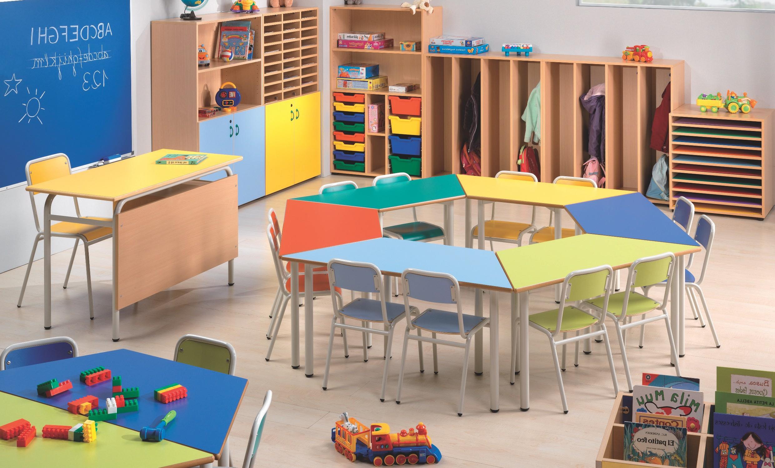 Mobiliario Escolar Infantil Q0d4 Mesa Trapezoidal Escuela Infantil Mobiliario Escuela Infantil