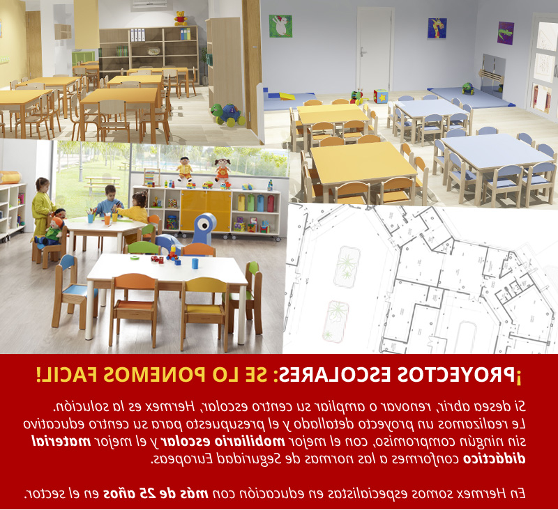 Mobiliario Escolar Infantil Txdf Hermex Wesco Mobiliario Escolar Infantil Equipamiento Guarderia Y