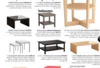 Mobiliario Ikea E9dx Muebles Auxiliares Ikea 2019 Espaciohogar