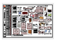 Mobiliario Jardin 0gdr Plano De Mobiliario Jardin De Nià Os In Autocad Cad 37 63