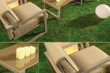 Mobiliario Jardin 4pde sofa Flotante Para Decorar La Piscina Muebles Jardin Diseo