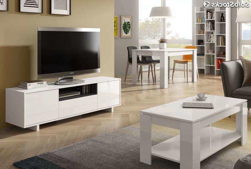 Mobiliario Salon Tqd3 Pack Mobiliario Salà N Edor Pleto Color Blanco Estilo Moderno