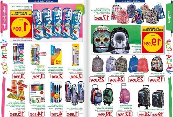 Mochila Para Portatil Carrefour Rldj Precios Del Material Escolar En Alcampo 2019 Definanzas