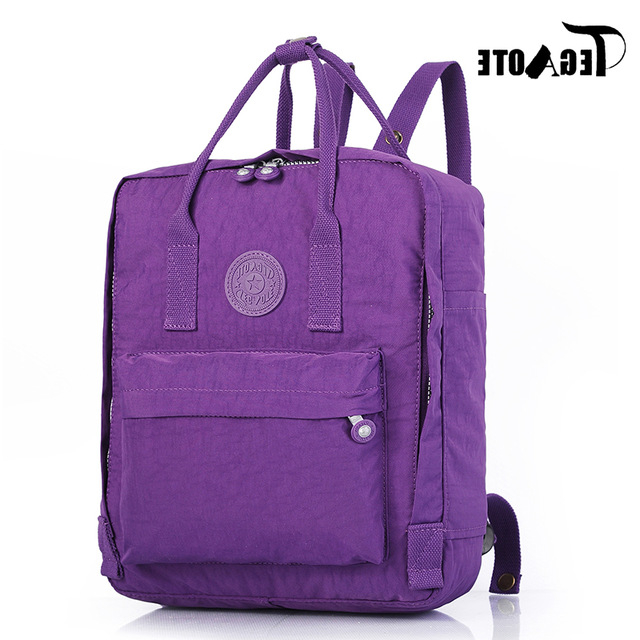 Mochilas Portatil Xtd6 Tegaote Bolsas Mochila Mujer 2018 Small Backpack Women Nylon
