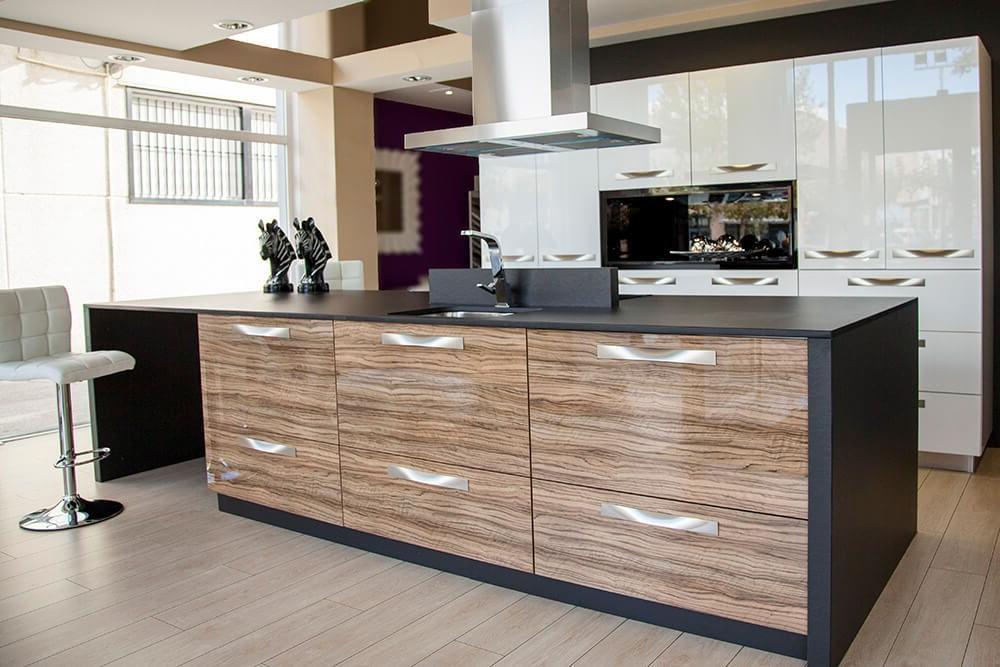 Modelos De Muebles De Cocina S1du Violeta Brillo Lasan Decoracion