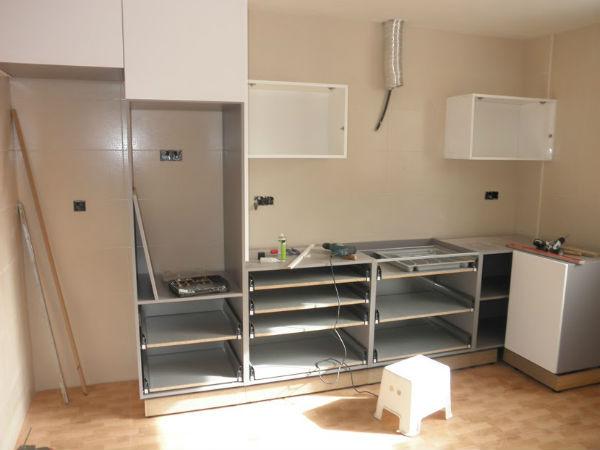 Montar Muebles De Cocina Tldn O Montar Mueble Cocina Melamine 4 HÃ ...