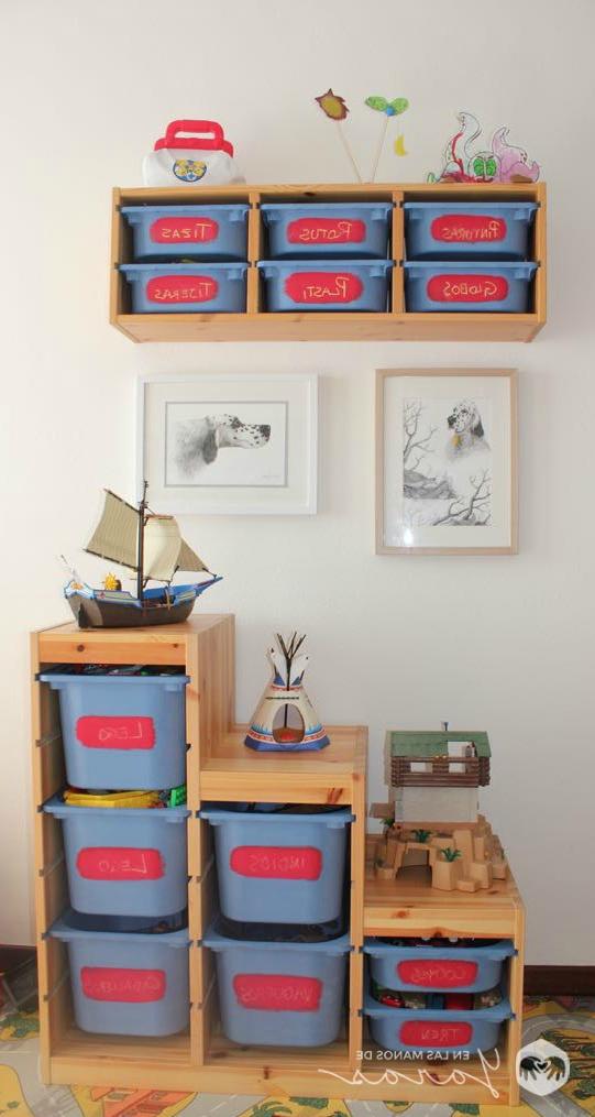 Mueble Almacenaje Juguetes Ffdn Diy Mueble Para Juguetes De Ikea Con Chalk Paint En Las Manos De