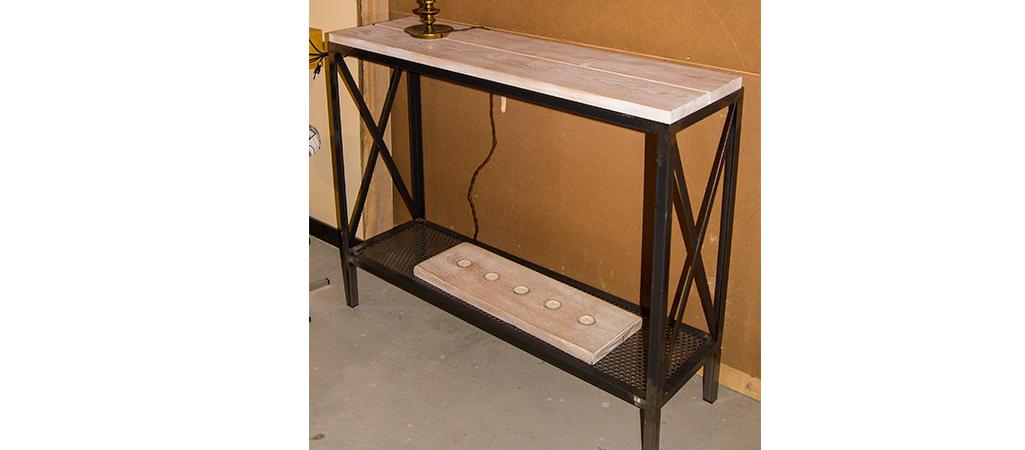 Mueble Auxiliar Recibidor Fmdf Mueble A Medida Para Recibidor Reciclaarte Muebles Artesanos