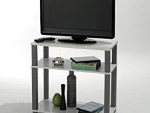 Mueble Auxiliar Tv Nkde Mesa De Tv Mueble Multimedia Blanca Y Gris Para Salà N Edor O
